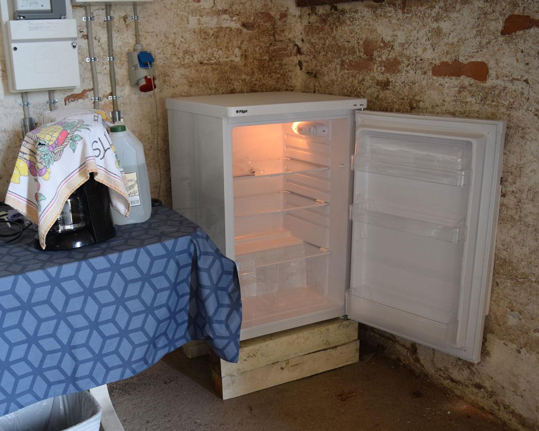 Nu med køleskab :-)