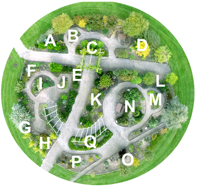 Dronebillede af Have 1, taget 10. otkober 2015