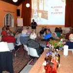 Foredrag ved biolog Preben Nielsen om Alkohol og planter i Tranekær Beboerhus den 18. nov. 2015.