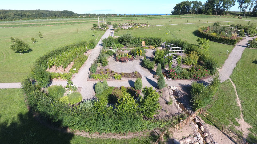Haven for urin- og kønsveje set fra drone den 9. juli 2017.